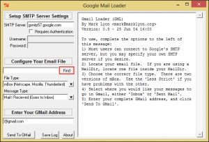 find-select-email-file