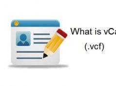 vCard file Format