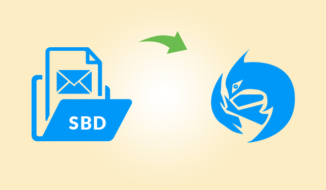 Import SBD to Thunderbird with MBOX & MSF File