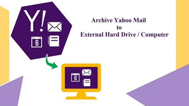 archive yahoo email to hard drive