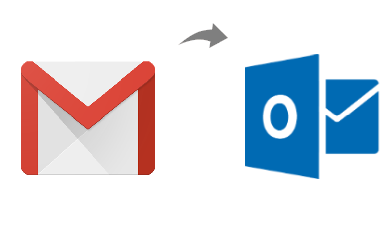 gmail to outlook 2017