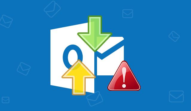 Outlook sending receiving error