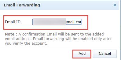 zoho to gmail
