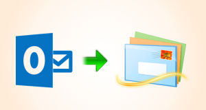 import emails to Windows Live Mail from Outlook