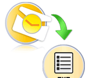 export Outlook email to txt file