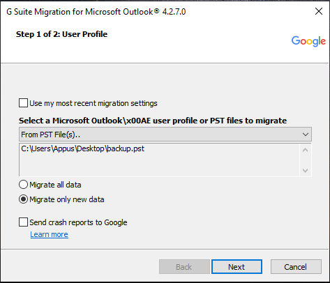 migrate zoho mail to gmail
