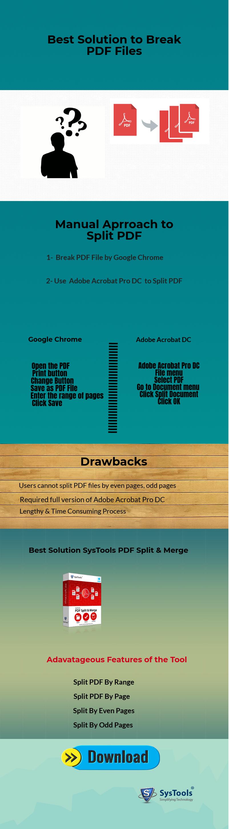 Learn Multiple Techniques to Break PDF File into Smaller Parts