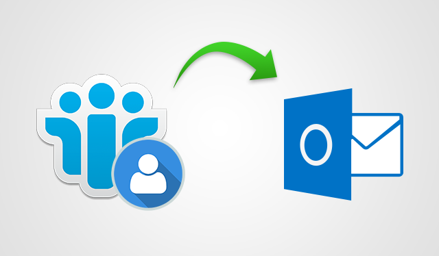 Export Contacts from Lotus Notes to Outlook 2016, 2013, 2010