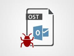 OST File Error
