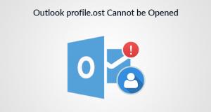 Outlook Error