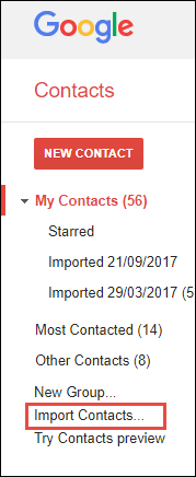 export contact from Thunderbird to Gmail