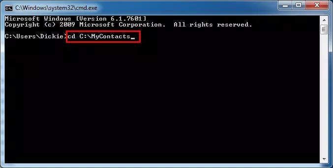 Import Multiple vcf into Outlook