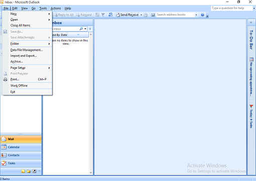 Export Outlook Contacts To Yahoo Mail By Converting Into CSV