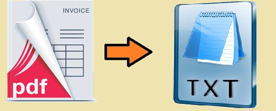 extract pdf invoice data