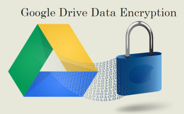 Google Drive data encryption