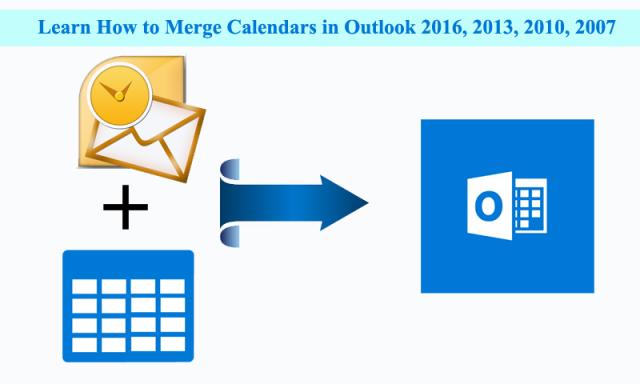Merge Calendars in Outlook