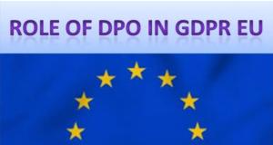 Role Of DPO Under GDPR