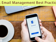 outlook email management best practices