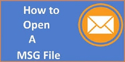 open MSG file type