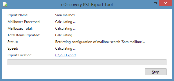 Archive Office 365 Mailbox to PST via PowerShell