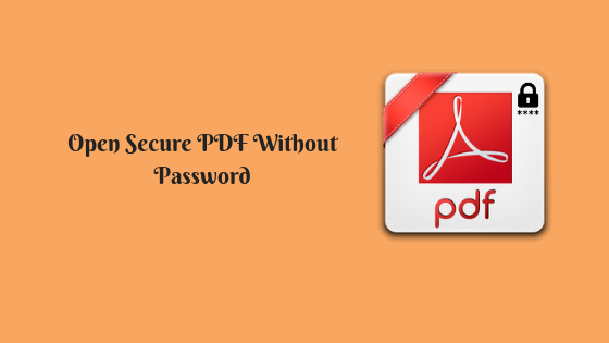 view secured pdf
