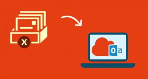 export deleted outlook mailboxes to office 365