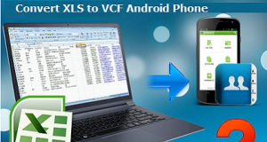 Convert XLS to VCF Android