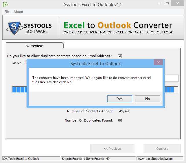 2 Ways to Import Email Address from Excel to Outlook