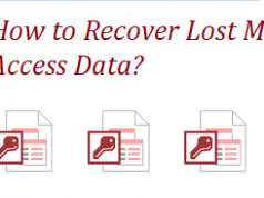 how to recover lost ms access data