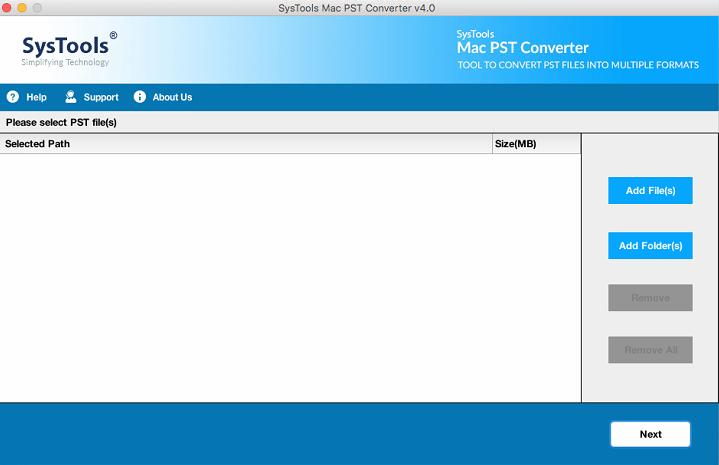 Mac PST Converter