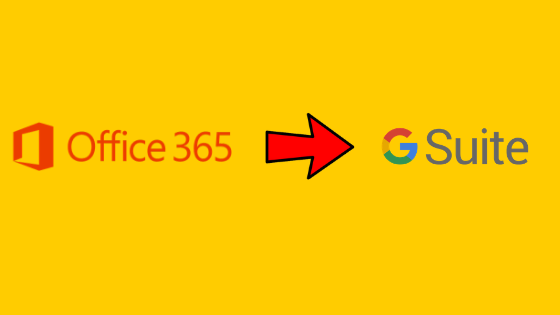 transfer from office 365 to g suite