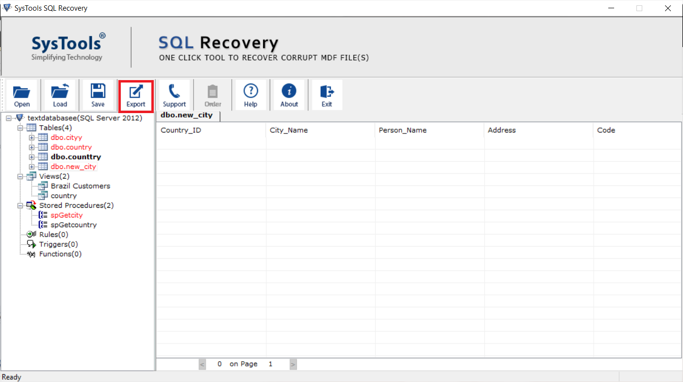 Preview recovered data