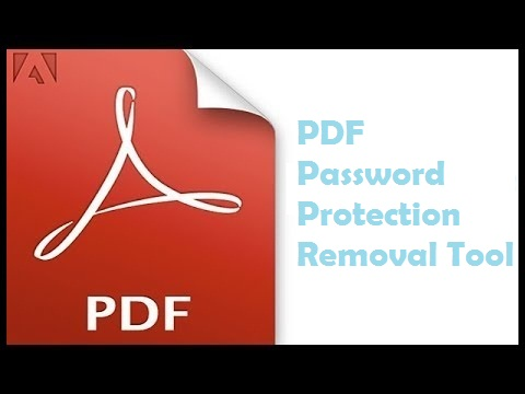pdf password protection remover free download