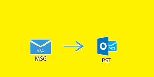 move msg files to pst