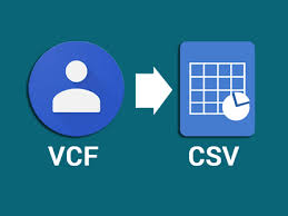 export vcf to google contacts