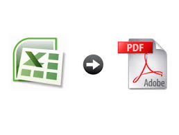 excel contacts to pdf