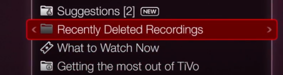 Retrieve Deleted Shows From My DirecTV DVR