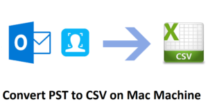 convert pst to csv on mac