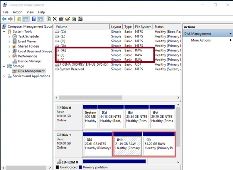 recover raw data from USB