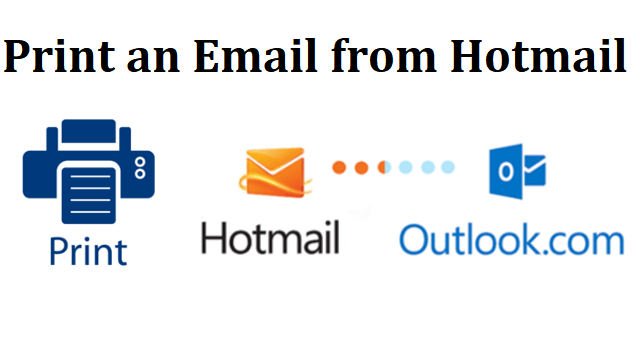 print an email from hotmail