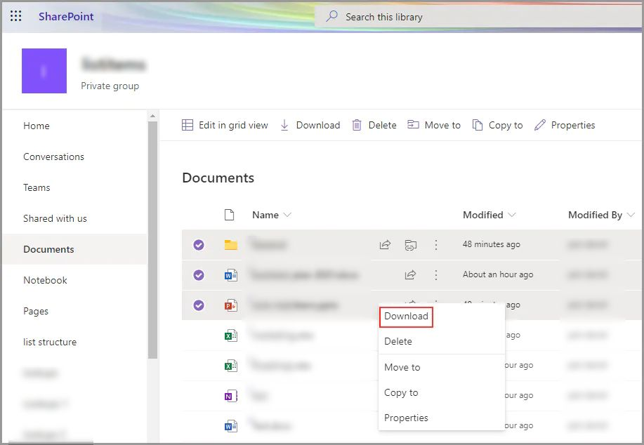 onedrive-download-files
