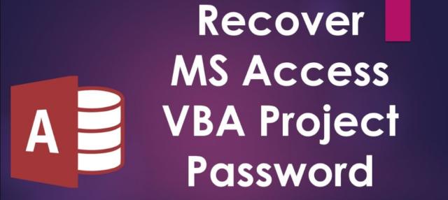 Bypass Access VBA password